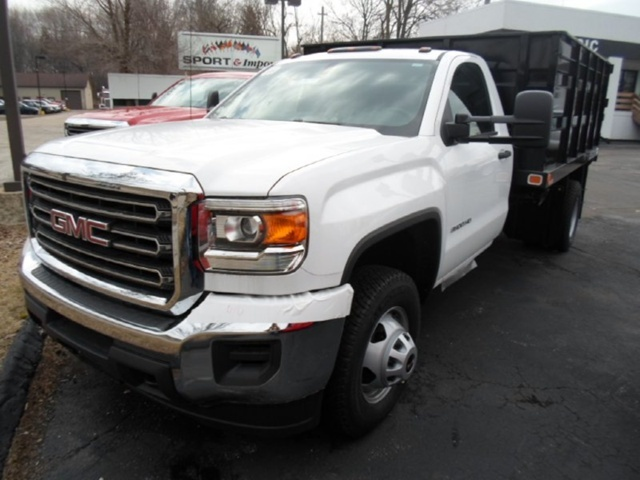 2015 Gmc Sierra 3500hd Chassis Cab Chassis