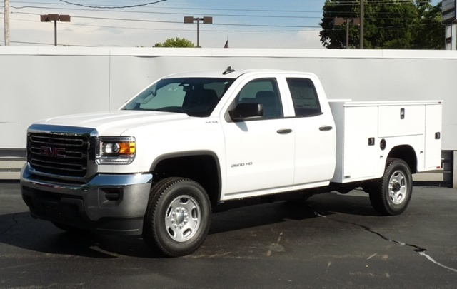 2016 Gmc Sierra 3500hd Chassis Contractor Truck