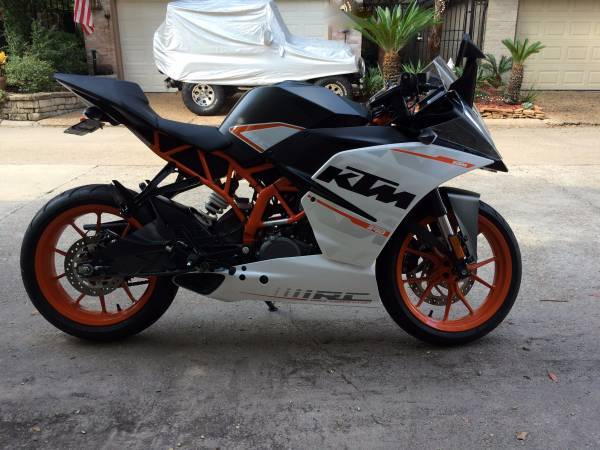 ktm rc 390 motorcycles for sale in houston, texas