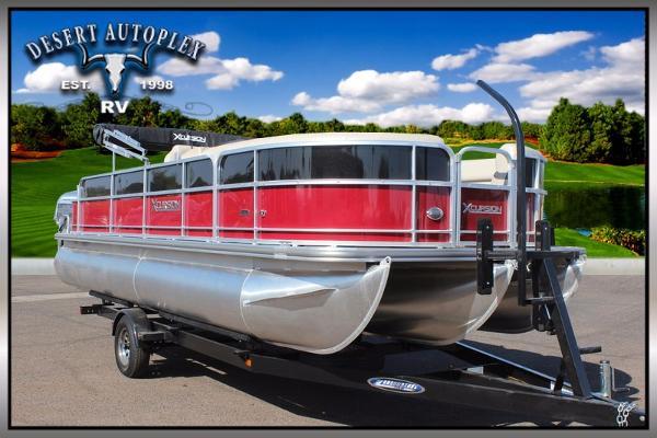 2016 Forest River Xcursion 222FCR Pontoon Boat
