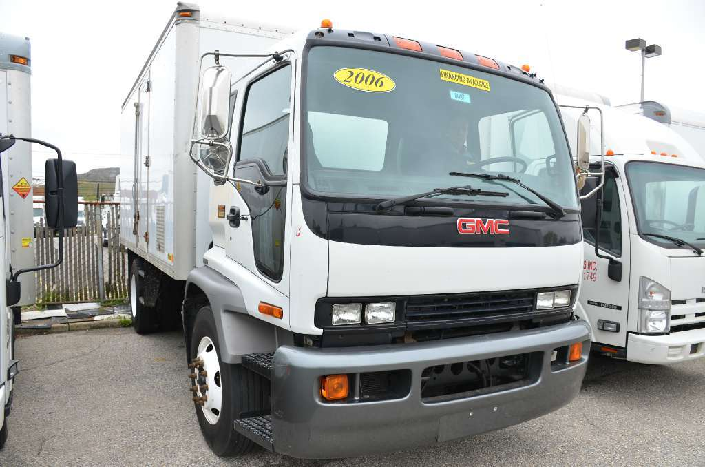 2006 Gmc T6500 Box Truck - Straight Truck