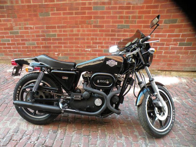 1977 Harley-Davidson XLCR CAFE RACER IRONHEAD SPORTSTER