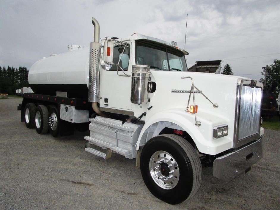 2012 Western Star 4900sf Vacuum Truck