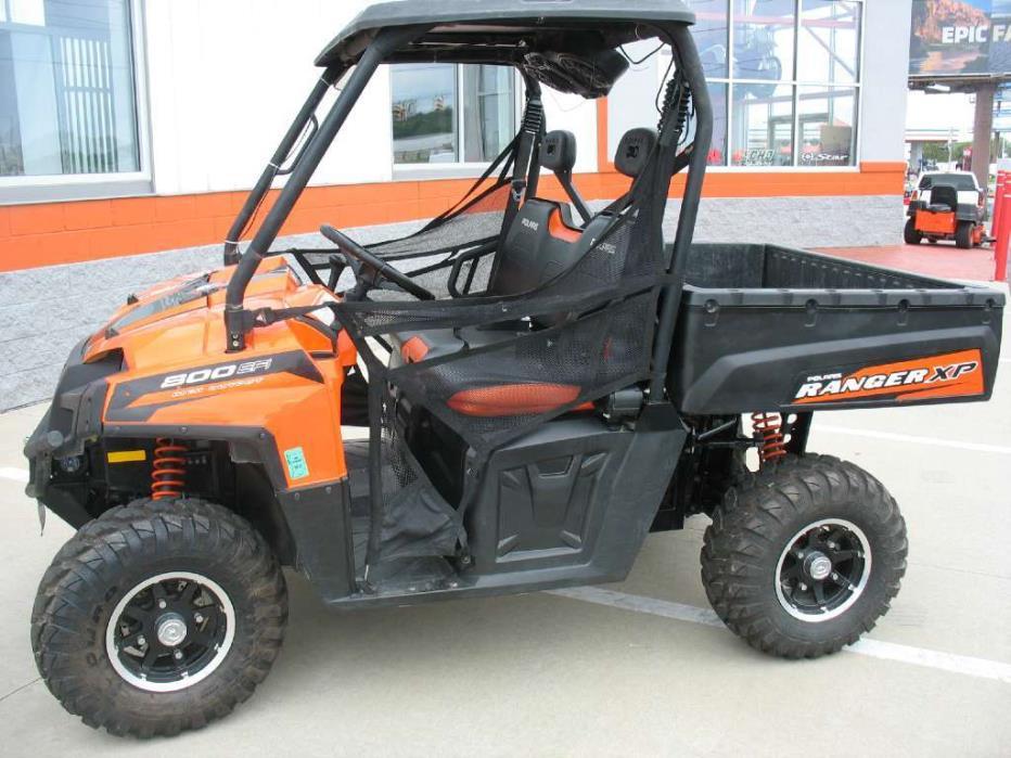 polaris ranger xp 800 black orange madness le motorcycles for sale. Black Bedroom Furniture Sets. Home Design Ideas