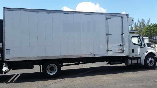 2007 Freightliner M2 106  Refrigerated Truck