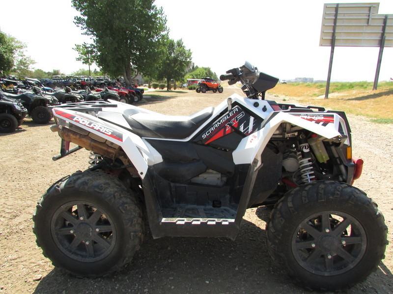 polaris scrambler xp 1000 white motorcycles for sale in colorado. Black Bedroom Furniture Sets. Home Design Ideas
