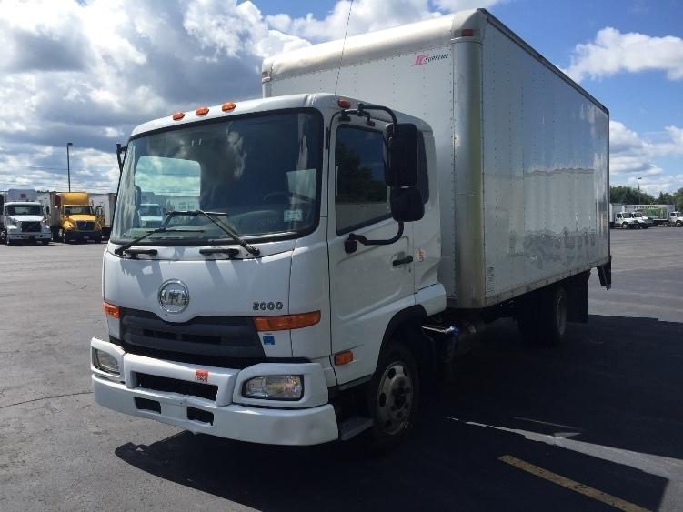 2012 Nissan Ud2000 Box Truck - Straight Truck