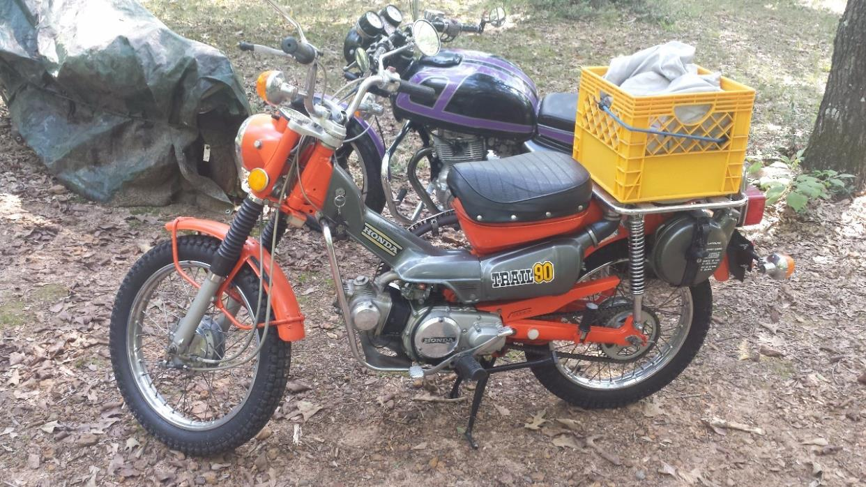 Honda Ct90 Motorcycles For Sale 1970 Cb 90 Motorcycle 1974 Ct Trail