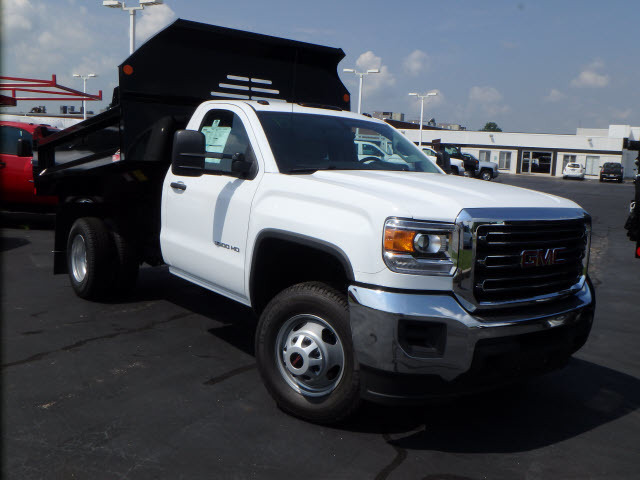 2016 Gmc Sierra 3500hd Cc  Contractor Truck