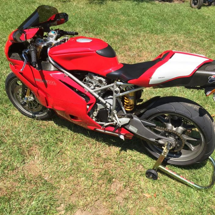 Totaled Ducati For Sale