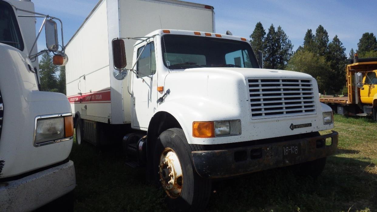 1994 International 4900 Refrigerated Truck
