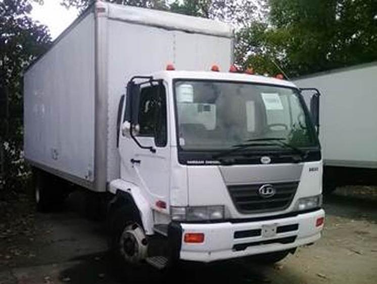 2006 Nissan Ud2600 Box Truck - Straight Truck