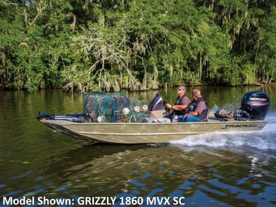 2015 TRACKER BOATS GRIZZLY 1548 MVX Sportsman