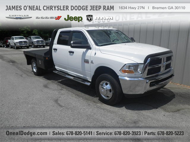 2011 Dodge Ram 3500 Hd  Cab Chassis