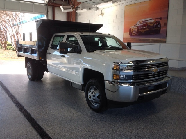 2016 Chevrolet Silverado 3500hd  Flatbed Truck