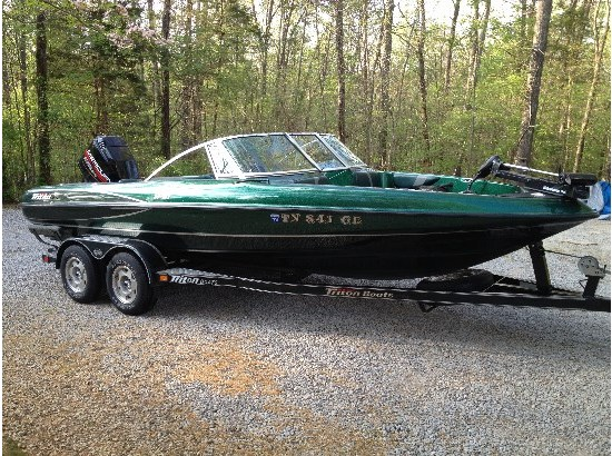 Triton 21 sf boats for sale for Fish and ski boats for sale craigslist