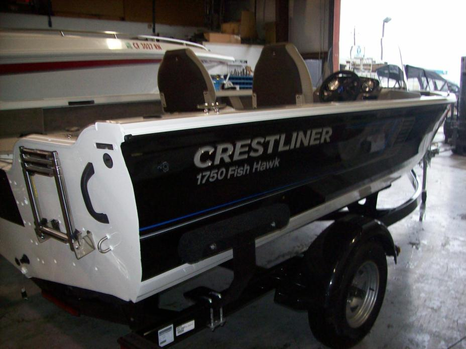 Crestliner 1750 fish hawk sc mercury 115hp boats for sale for Crestliner fish hawk