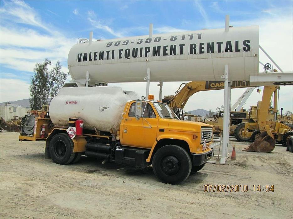 1987 Chevrolet C70 Fuel Truck - Lube Truck