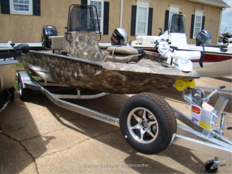 2017 Excel Boat Company 183 Bay Pro (Marsh-Optifade Camo w/Mercury ME115L Pro X