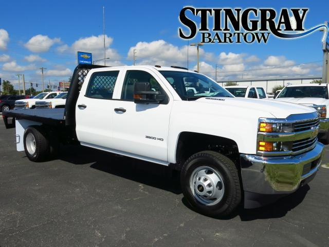 2015 Chevrolet Silverado 3500hd Built After Aug 14  Flatbed Truck