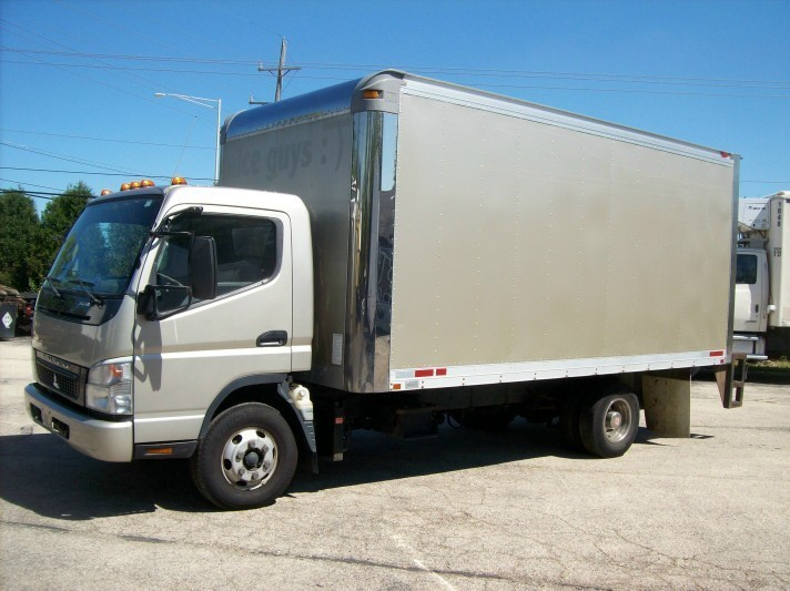 2008 Mitsubishi Fuso Fe145 Box Truck - Straight Truck