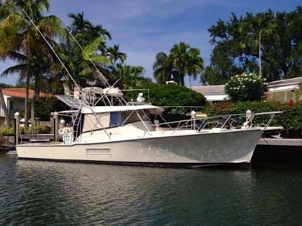 1986 Key West Custom Sportfisherman