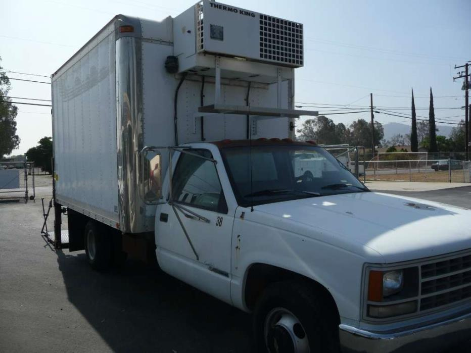 1991 Chevrolet 3500 Cheyenne Refrigerated Truck
