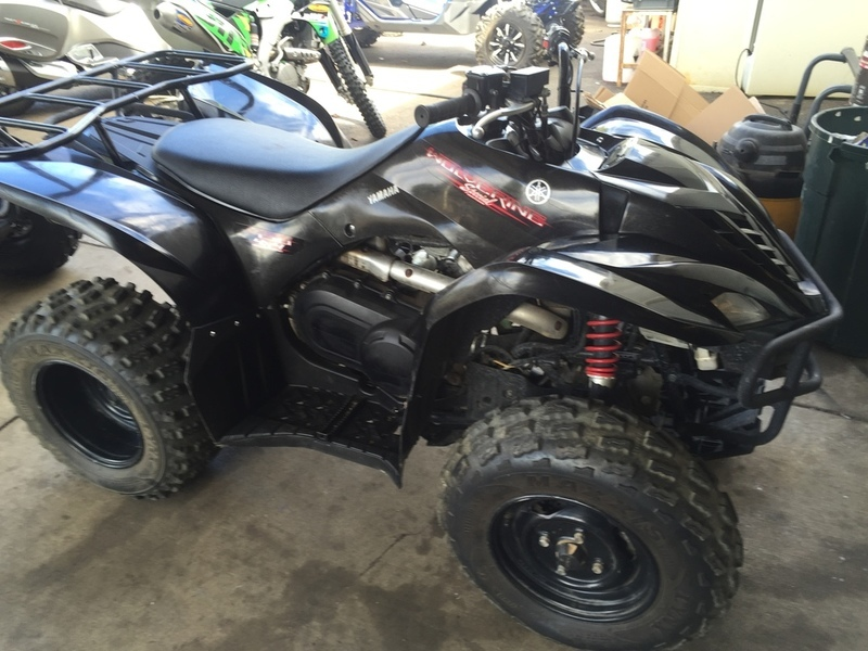 Yamaha wolverine 450 4x4 special edition motorcycles for sale for Yamaha wolverine 450 for sale