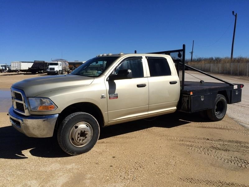 2011 Dodge Ram 3500hd  Flatbed Truck