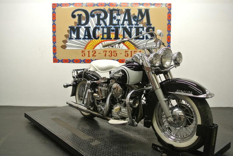 1956 Harley-Davidson FLH 74