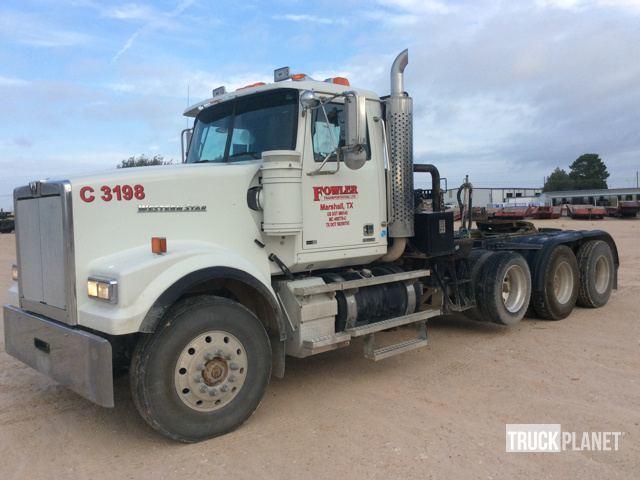 2013 Western Star 4900fa Winch Truck