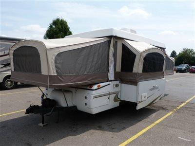 2002 Jayco Camping Trailers HERITAGE POTOMAC WITH S