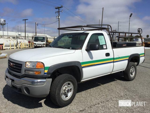 2006 Gmc Sierra C2500 Hd Pickup Truck