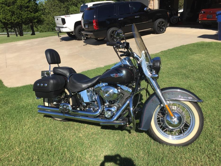 Harley Davidson Road King For Sale Mustang Ok >> Harley Davidson Softail Deluxe Motorcycles For Sale In Mustang Oklahoma