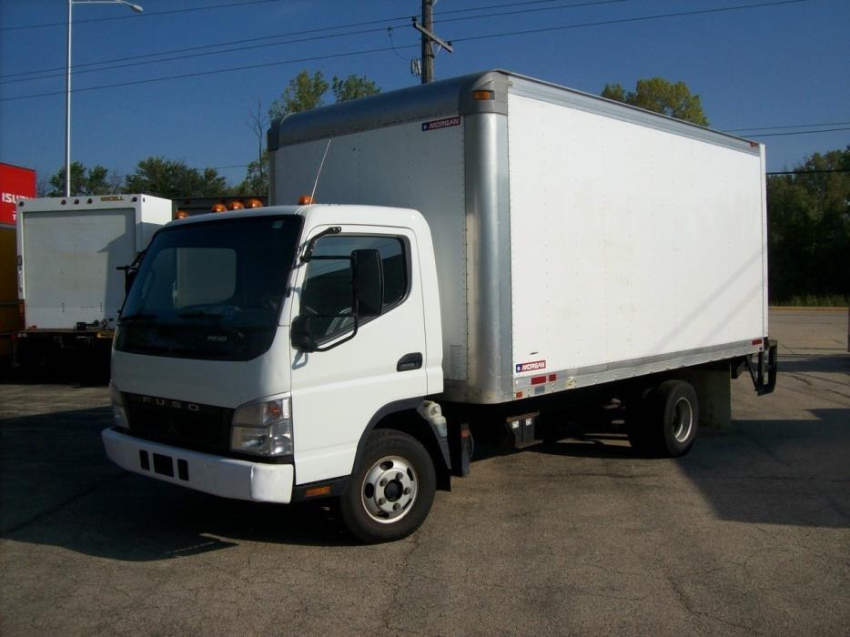2007 Mitsubishi Fuso Fe140 Box Truck - Straight Truck
