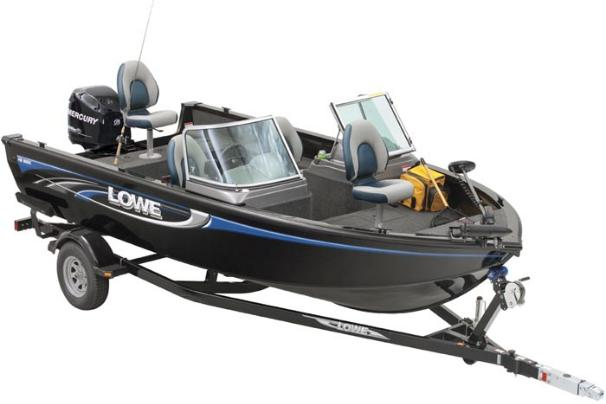 2017 Lowe Fishing Machine 185DC