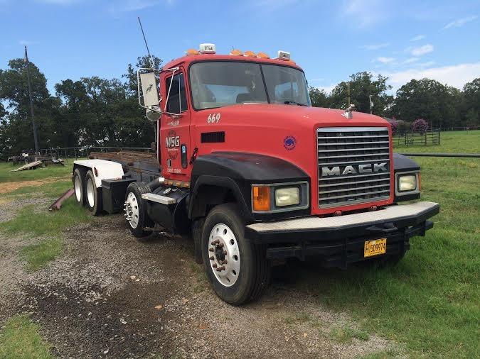 1990 Mack Ch613 Roll Off Truck