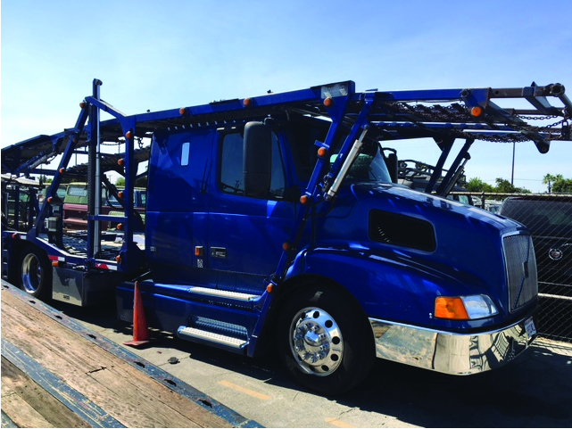 2001 Volvo Vnl Car Carrier