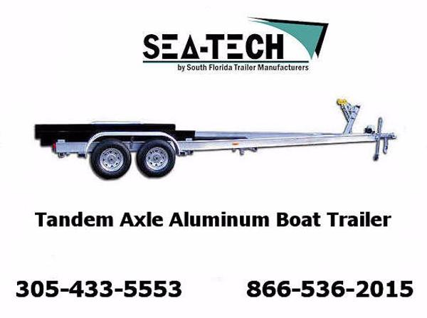 2017 New SEA-TECH Tandem Axle