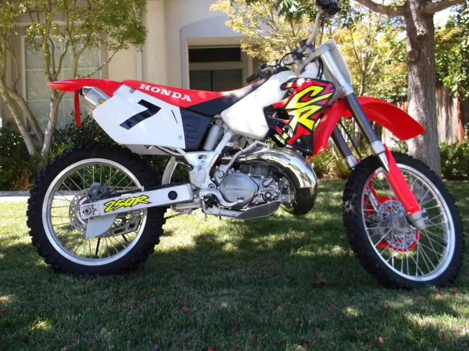1999 Honda Cr250r Motorcycles For Sale