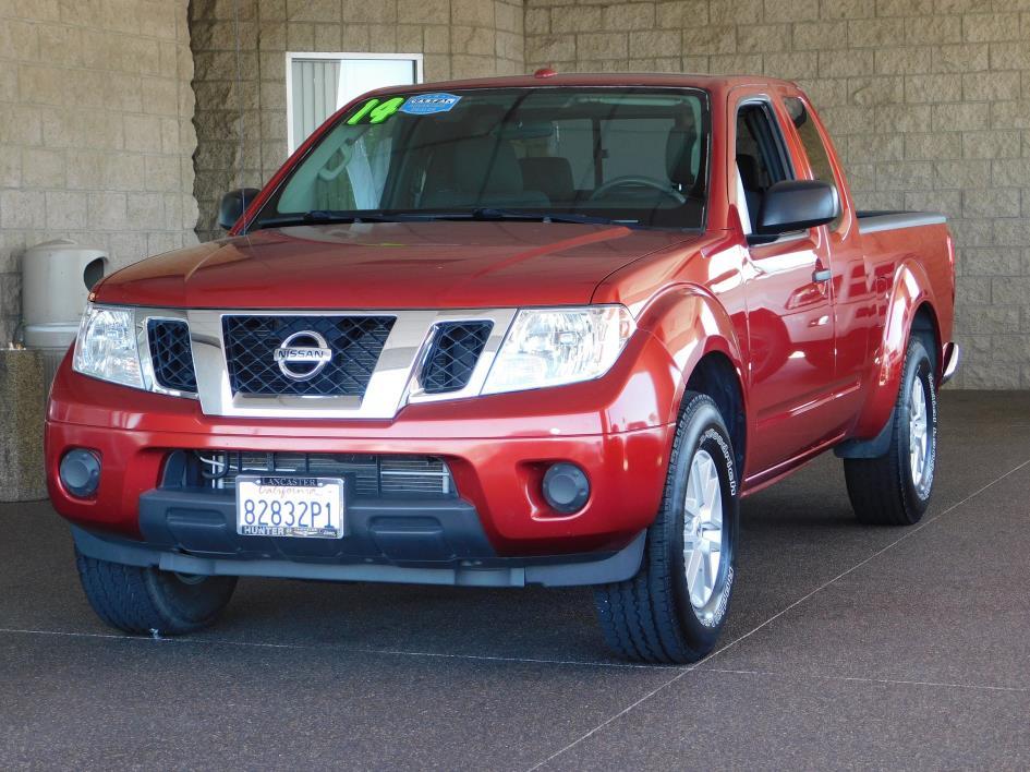 2014 Nissan Frontier Sv Pickup Truck