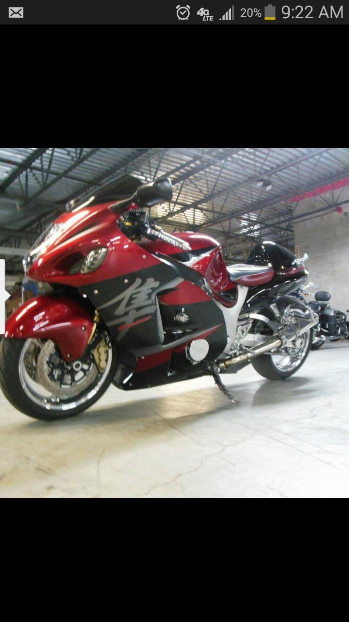 1800 Suzuki Hayabusa Motorcycles For Sale