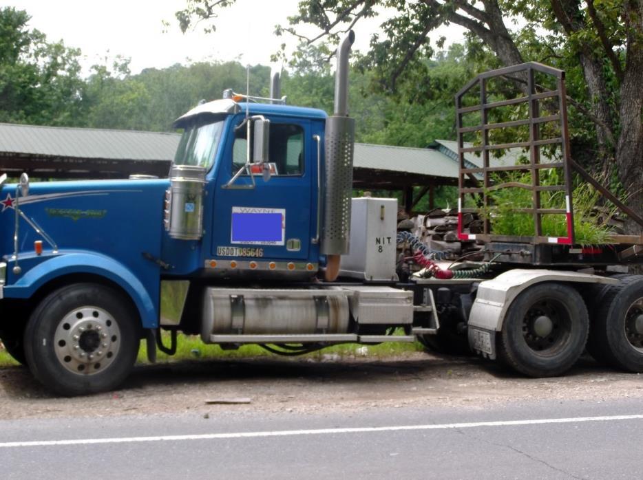 2009 Western Star 4900 Conventional - Sleeper Truck
