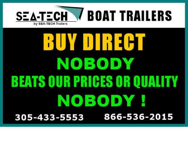 2017 SEA-TECH Tandem, Triple & Quad Axle Boat Trailers