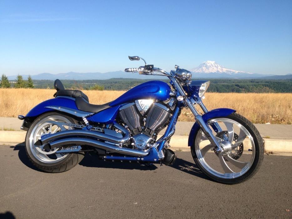2008 victory vegas jackpot motorcycles for sale. Black Bedroom Furniture Sets. Home Design Ideas