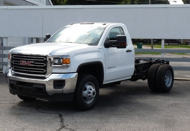2016 Gmc Sierra 3500hd Chassis Cab Chassis