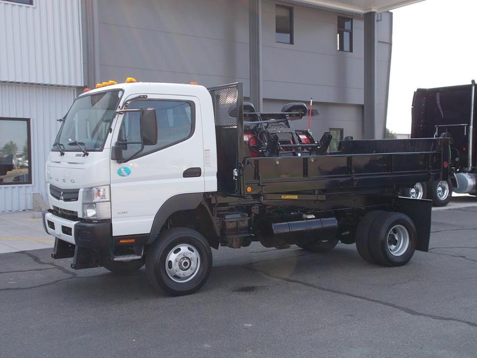 2012 Mitsubishi Fuso Fg140  Dump Truck