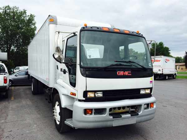 2008 Gmc F7b042 Box Truck - Straight Truck