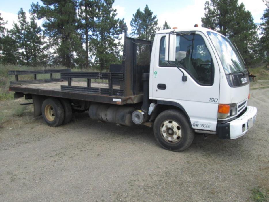 1998 Isuzu Npr  Flatbed Truck