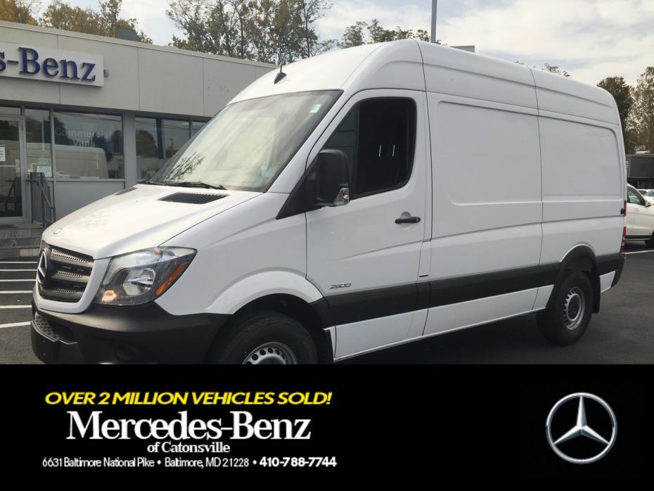 2016 Mercedes-Benz Sprinter Normal Roof Cargo Van